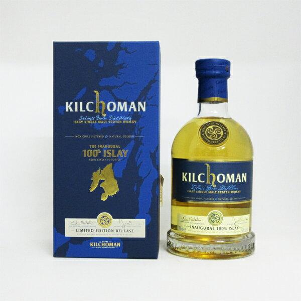 キルホーマン INAUGURAL(イノーギュラル) 100% ISLAY 2011 50度 700ml 正規品 (専用化粧箱入り)