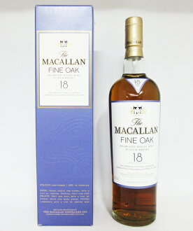 Macallan 18 year 43 700 ml finalk regular products (exclusive BOX set)