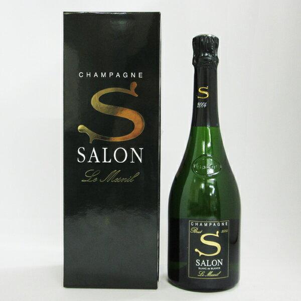 シャンパーニュ サロン 2004 750ml 正規品 (専用ギフトBOX入り・冊子付き)