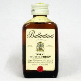 【ミニサイズ】【レトロ:特級表示】バランタイン ファイネスト 43度 48ml 正規品