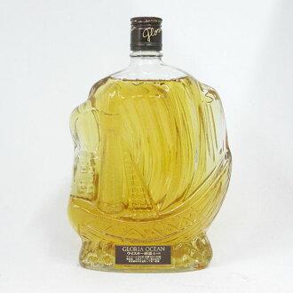格罗利尔大海轮船瓶43度760ml(没有箱子)