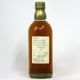 NIKKA WHISKY 原酒25年 仙台宮城峡蒸留所限定 59度 500ml (箱なし)