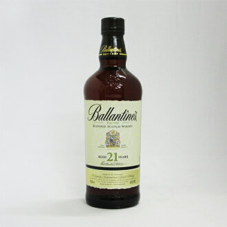 700 ml of Ballantine 21 years 40 degrees regular article (there is no box)