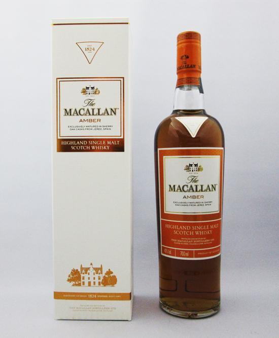 マッカラン(MACALLAN) 1824 アンバー 40度 700ml 正規品 (専用BOX入り)