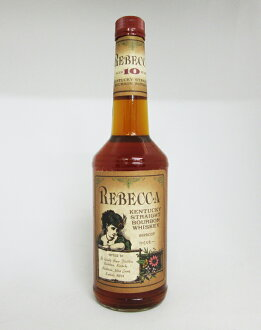 700 ml of Kentucky straight bourbon Rebecca ten years 43 degrees