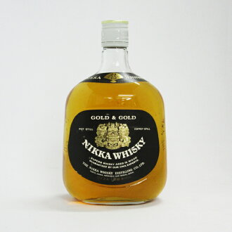 760 ml of Nikka whiskey GOLD&GOLD white bottle 43 degrees