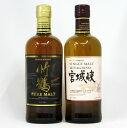 竹鶴 / 宮城峡 700ml NV (箱なし) 2本飲み比べセット