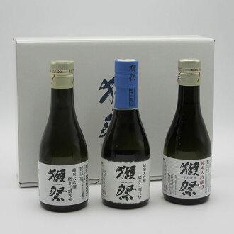 獺祭純米大吟醸/50.3成十之分九、3部2成三分/180ml专用的箱子安排