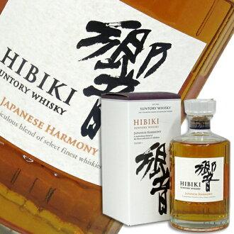 响日语和声43度700ml(进入BOX)三得利威士忌