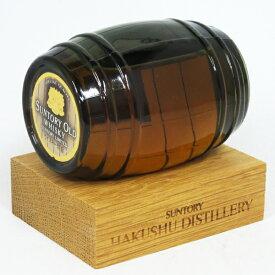 【ミニサイズ】【レトロ:特級表示】サントリーオールドウイスキー 白州蒸溜所 樽ボトル 43度 150ml (箱なし)