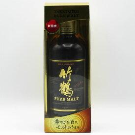 竹鶴NV 黒ラベル ピュアモルト 43度 700ml (専用クリアケース入)