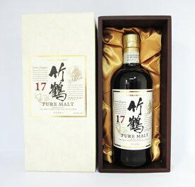 竹鶴 17年 ピュアモルト 700ml (専用化粧箱入) アサヒ ニッカ ウイスキー