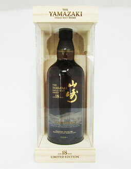 Yamazaki 18-year old whisky limited edition 43 ° 700 ml (private karagumi)