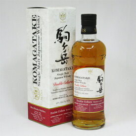 シングルモルト 駒ヶ岳 ダブルセラーズ Bottled in 2019 47度 700ml (専用BOX入)