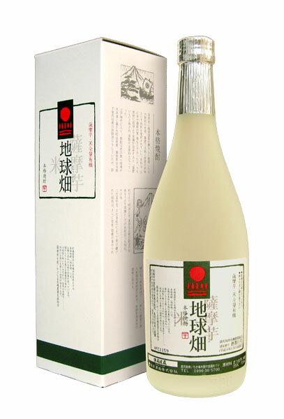 【赤兎馬と同蔵】薩摩芋・米全量有機 本格焼酎 地球畑 25度 720ml (専用BOX入)