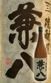 兼8(兼任的蜂)1800ml正式的麦子烧酒四谷造酒有限公司