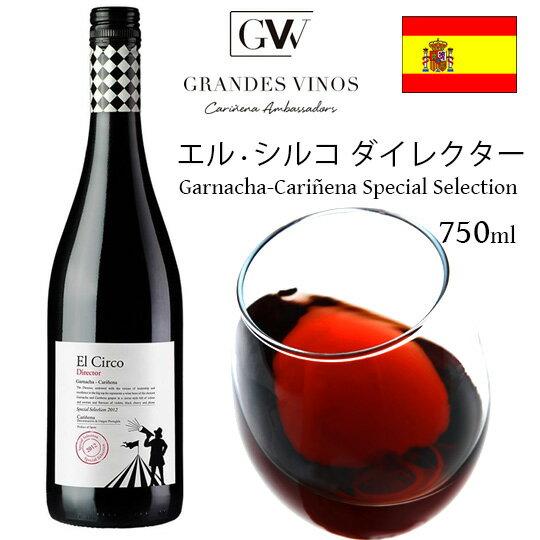 エルシルコ ダイレクター2013(赤) 13.5度 750ml (箱なし) スペインワイン