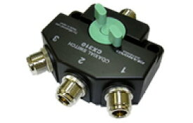 【ラッキーシール対応】 CX-310N ダイヤモンド 同軸切換器【1回路3接点】 N型