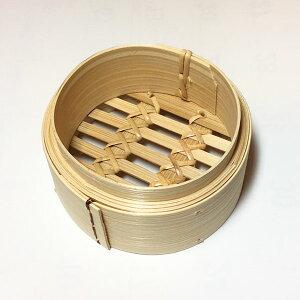 広東式竹中華セイロ 10cm 身(中華せいろ 10cm 蒸し器 蒸篭 ミニセイロ 万糧)