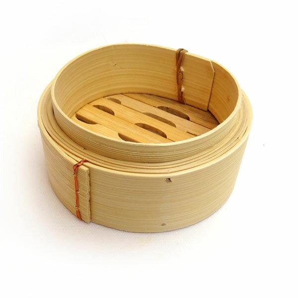 広東式竹中華セイロ 15cm 身(中華せいろ 15cm 蒸し器 蒸篭 ミニセイロ 万糧)