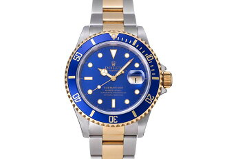 롤렉스 서브 마리나 하루 Ref.16613 블루 다이얼 1996 년 (ROLEX SUBMARINER DATE Ref.16613 BLUE DIAL CA.1996)