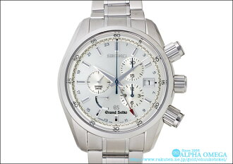 Grand Seiko spring drive chronograph Ref.9R86-0AA0, SBGC001 Silver Dial 2009 master shop limited (GRAND SEIKO SPRING DRIVE CHRONOGRAPH Ref.9R86-0AA0, SBGC001 SILVER DIAL Ca.2009 MASTER SHOP LIMITED MODEL)
