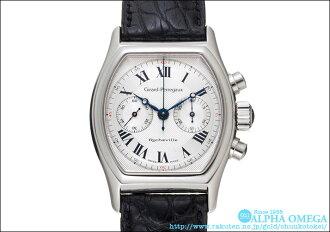 Girard Perregaux Richville chronograph Ref.2710 Silver Dial (GIRARD-PERREGAUX RICHEVILLE Ref.2710 SILVER DIAL)
