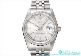 劳力士日期确切Ref.16234银子拨盘1997年