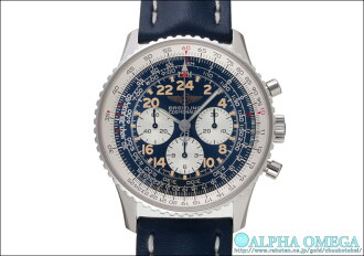 Breitling Navitimer Cosmonaut Ref.A12022 blue dial (BREITLING NAVITIMER COSMONAUTE Ref.A12022 BLUE DIAL)