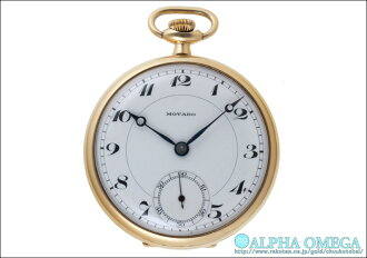 Retail pocket watch in 1930's before and after