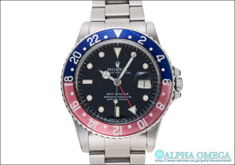 Rolex GMT Master Ref.16750 red / blue dial spider-1984
