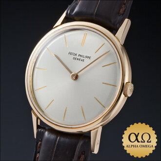 百达翡丽卡拉特拉瓦 Ref.3416 黄色金银拨号 1960 年