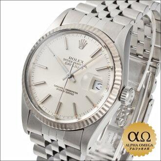 劳力士日志型手表 Ref.16014 银色表盘 1983