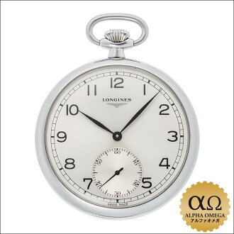 Longines Pocket Watch Ref.4038 3 878 SS hand-winding pocket watch