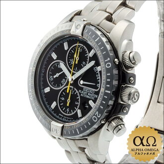 Seiko ProspEx flight master Ref.SBDS001 6S37-0010 titanium chronograph automatic winding