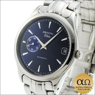 Zenith class elite Ref.90/02.0400.680 automatic blue dial-2000