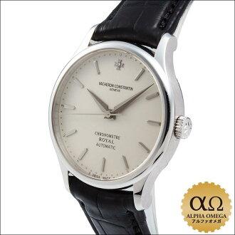 江诗丹顿 chronometerrowirel Ref.47021/000G 白金钻石设置银色表盘 1998