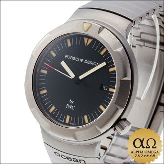 Porsche Design by IWC Ocean 2000 Ref.3524 titanium late model 1990