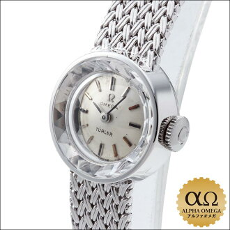 Omega round-Tula Cal.484 White Gold Silver Dial-1965