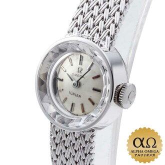 欧米茄轮图拉 Cal.484 白色黄金白银拨号-1965年