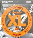 D'Addario ECG26/フラットワウンド エレキギター弦