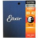 ELIXIR 12002 NANOWEB Super Light 09-42 エレキギター弦