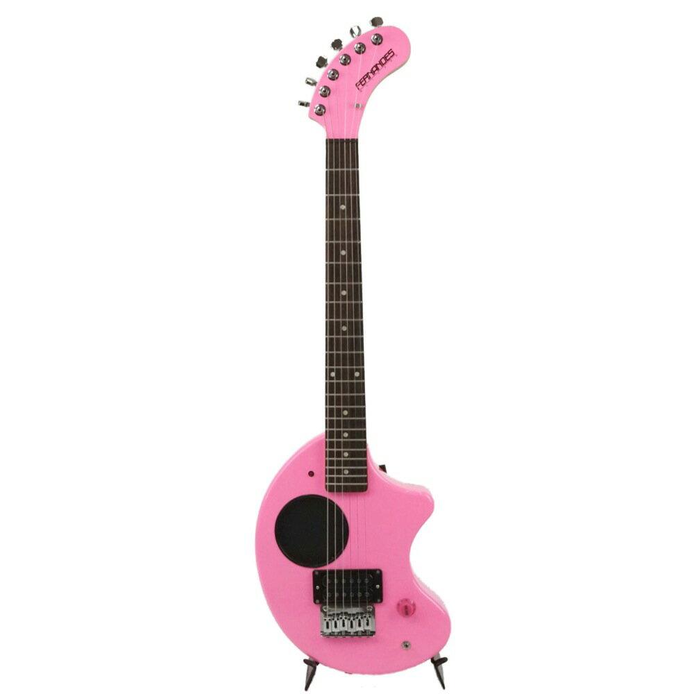 FERNANDES ZO-3 PINK ZO3ミニギター ピンク