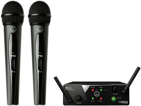 AKG WMS40 PRO MINI2 VOCAL SET DUAL ワイアレスマイク2本セット