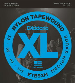 D'Addario ETB92M MEDIUM 50-105 ベース弦