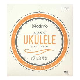D'Addario EJ88UB Bass Ukulele ウクレレベース弦