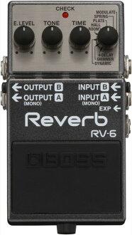 BOSS RV-6 Reverb 리바브에페크타