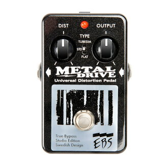 EBS Metal Drive Studio Edition bass effects