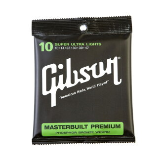 Gibson SAG-MB10 Masterbuilt Premium Phosphor Bronze吉他弦