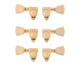 Gibson PMMH-025 Modern Gold Machine Heads w/ Metal Buttons ギター用ペグ